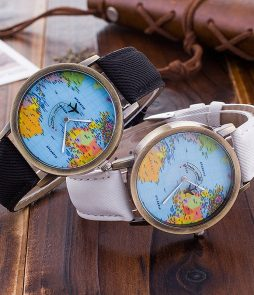 Wanderlust Travel Watch - Denim