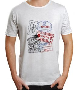 Custom Passport Stamp Tee - Unisex