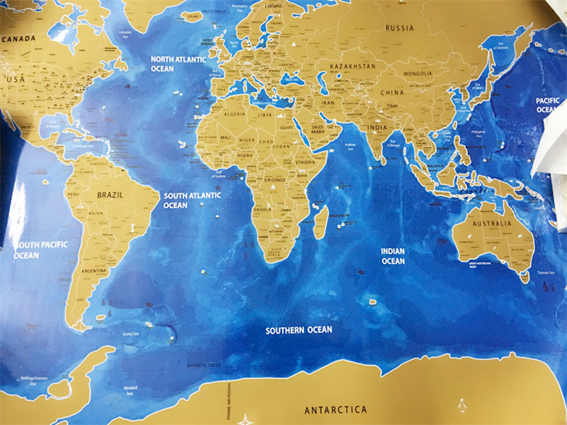 World scratch map blue ocean edition travel bible shop just received it today and love it makes the perfect gift gumiabroncs Images