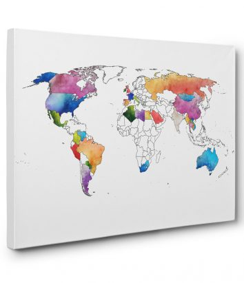 100 places scratch off bucket list poster travel bible shop custom watercolor world map with your visited countries gumiabroncs Images