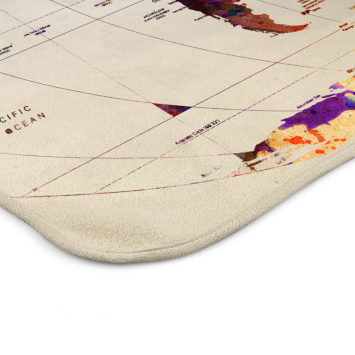 Watercolor world map blanket travel bible shop gumiabroncs Images
