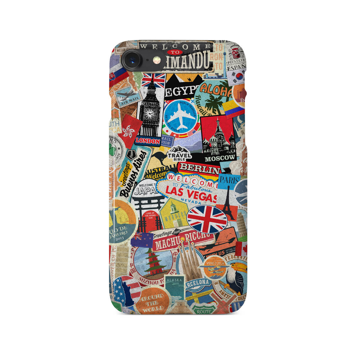 a19642fe23 Travel Stickers Phone Case – Travel Bible Shop